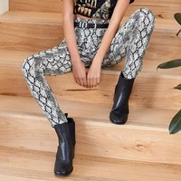 Viper Print Leggings