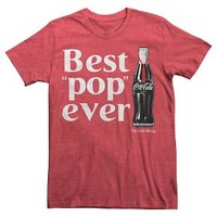 Coca Cola ® Men's Best Pop Ever T-Shirt Red : Target