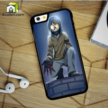 Creepypasta Ticci Toby iPhone 6 Plus Case by Avallen