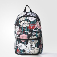 """Adidas"" Flowers Prints Trending Fashion Sport Laptop Bag Shoulder School Bag Backpack"
