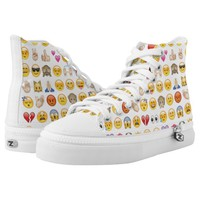 emoji sneakers shoes printed shoes
