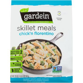 Gardein™ Chick'n Florentino Deliciously Meat-Free Skillet Meals 20 oz. Bag - Walmart.com