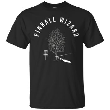 Pinball Wizard Disc Golf T-Shirt Hoodie, Funny Sports Player Gift