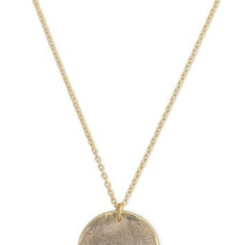 Monte Carlo Coin Necklace