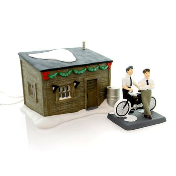 Department 56 Accessory Harley Davidson Motor Co. Village Lighted Accessory