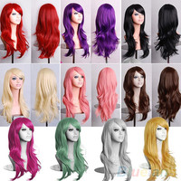 Long Colorful Party Wig