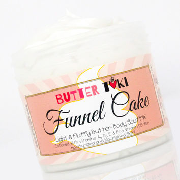 FUNNEL CAKE Body Butter Soufflé 4oz