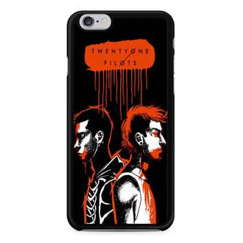 Twenty One Pilots Josh Dun And Tyler Joseph Art iPhone 6/6S Case