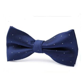Prevalent Children Bow Tie Baby Boy Kid Clothing Accessories Solid Color Gentleman Shirt Neck Tie Bowknot Dot Free Shipping