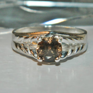 1 Carat Chocolate Diamond Ring