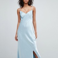 Ghost bridesmaid satin maxi cami dress at asos.com