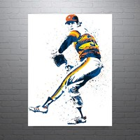 Nolan Ryan Houston Astros Poster