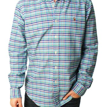 Ralph Lauren Men's Long Sleeve Button Down Shirt