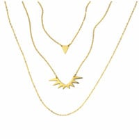 ELLIE VAIL - Olympia Layered Necklace