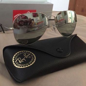 DCCKHI2 Cheap Ray-Ban RayBan Aviator Silver Mirror Lens Sunglasses RB3025 003/40 58MM NEW outlet