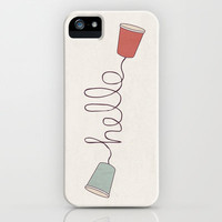 Hello! iPhone Case by Basilique | Society6