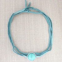 Turquoise Choker: Seen on Fashionlaine
