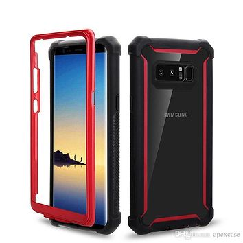 Hybrid 3 in 1 Defender Cases For iPhone X 8 7 6 Plus Samsung Galaxy S9 Plus Note 9 J3 J7 2018