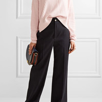 Acne Studios - Issy asymmetric ribbed cotton-blend sweater