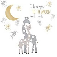 Lambs & Ivy® Goodnight Giraffe Moonbeams Wall Decal