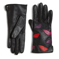 Diane von Furstenberg - Lips Leather Gloves