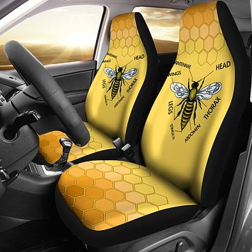 Honey Bee Car Seat Covers-Clearance