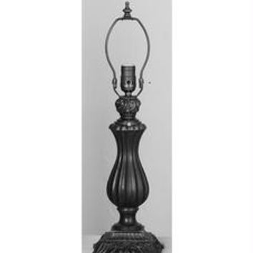 13.5 Inch Neoclassical Vase Base Table Lamps