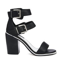 Senso Robyn I Black Mid Heeled Sandals - Black