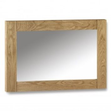 Julian Bowen Marlborough Oak Wall Mirror