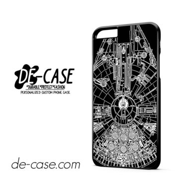 Star Wars Millenium Falcon DEAL-10032 Apple Phonecase Cover For Iphone 6/ 6S Plus