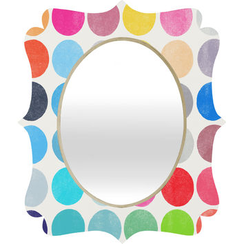 Garima Dhawan Colorplay 9 Quatrefoil Mirror