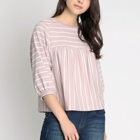Cruise Control Dolman Sleeve Stripe Top