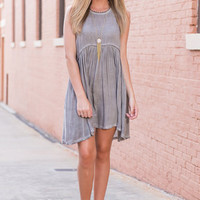 Free Spirit Fun Dress, Mocha