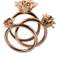 Rosa Rings | View all new | Monki.com