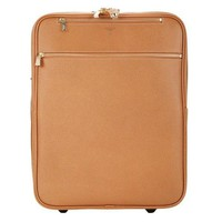 Light Cognac Carry-On Roller