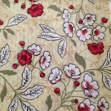 DEBORAH CORSINI - FLOWER PATTERN  -  FABRIC - 1 YARD