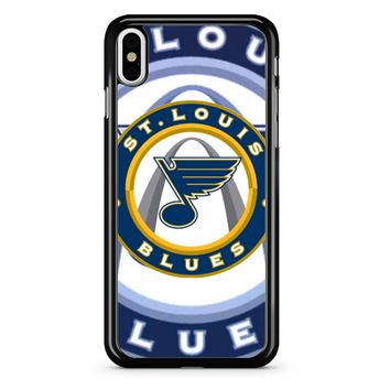 St Louis Blues Hockey iPhone X Case