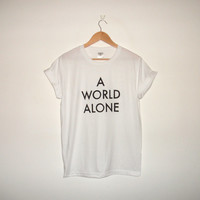 Lorde 'A World Alone' T-shirt