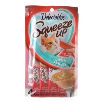 Hartz Delectables Squeeze Up Cat Treat - Tuna