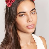 Floral Cat-Ears Headband