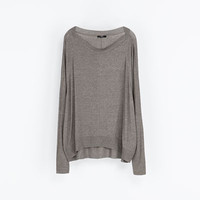 VISCOSE BOAT NECK T - SHIRT - T - shirts - Woman | ZARA United States