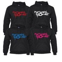 MY CHEMICAL ROMANCE HOODED TOP UNISEX