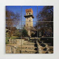 Ancient watchtower. Wood Wall Art by albert12001