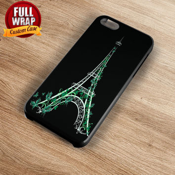 Beautiful Pink Eiffel Tower Full Wrap Phone Case For iPhone, iPod, Samsung, Sony, HTC, Nexus, LG, and Blackberry