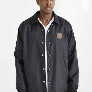 OBEY Mercer Coaches Jacket- Black