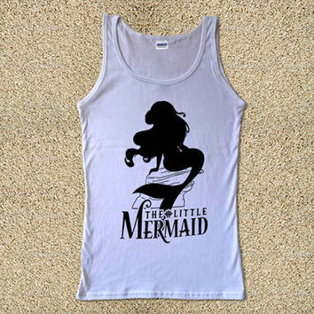 The Little Mermaid Ariel for Tank Top Mens and Tank Top Girls