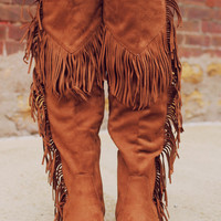Lake Boho Boot-Cognac
