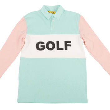 GOLF RUGBY PEACH/MINT