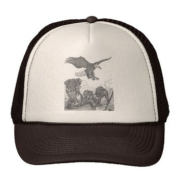 Eagle & Soldiers Trucker Hat