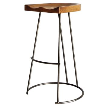 Elias Bar Stool Reclaimed Teak Root Natural